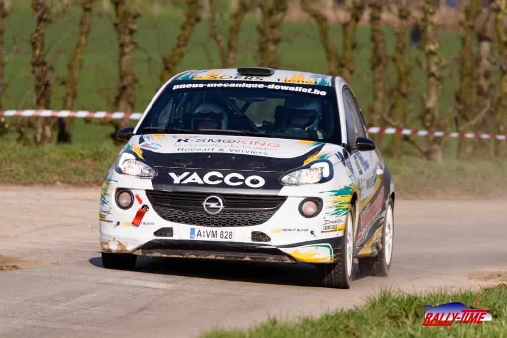 Andy Dewallef - Rally van Haspengouw