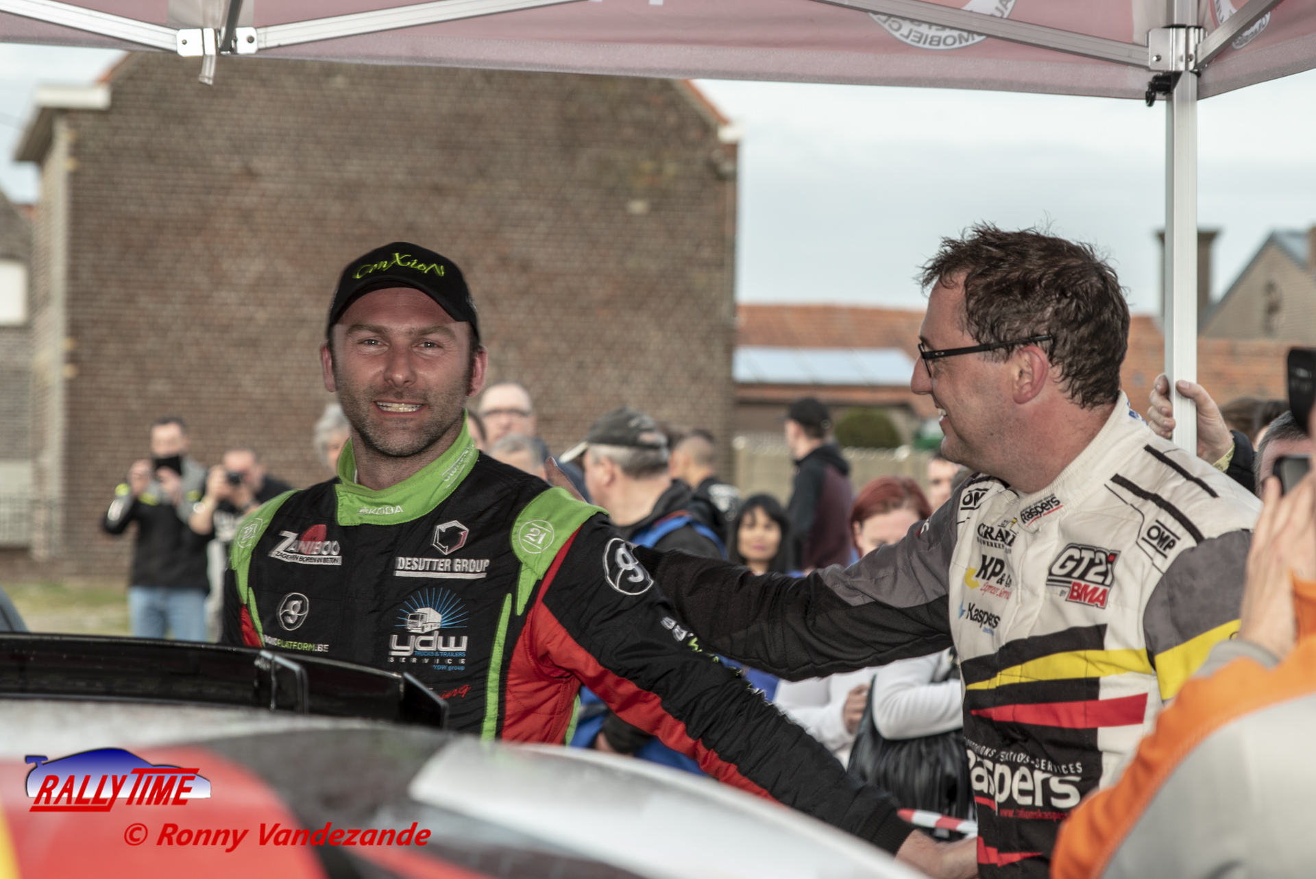 Vincent Verschueren machteloos in TAC Rally