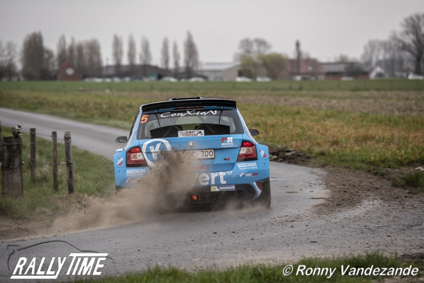 Didier Duquesne tevreden over prestatie in TAC Rally
