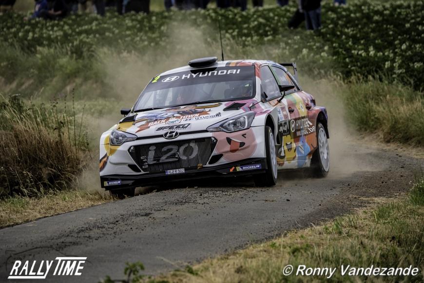 Renties Ypres Rally - Het parcours