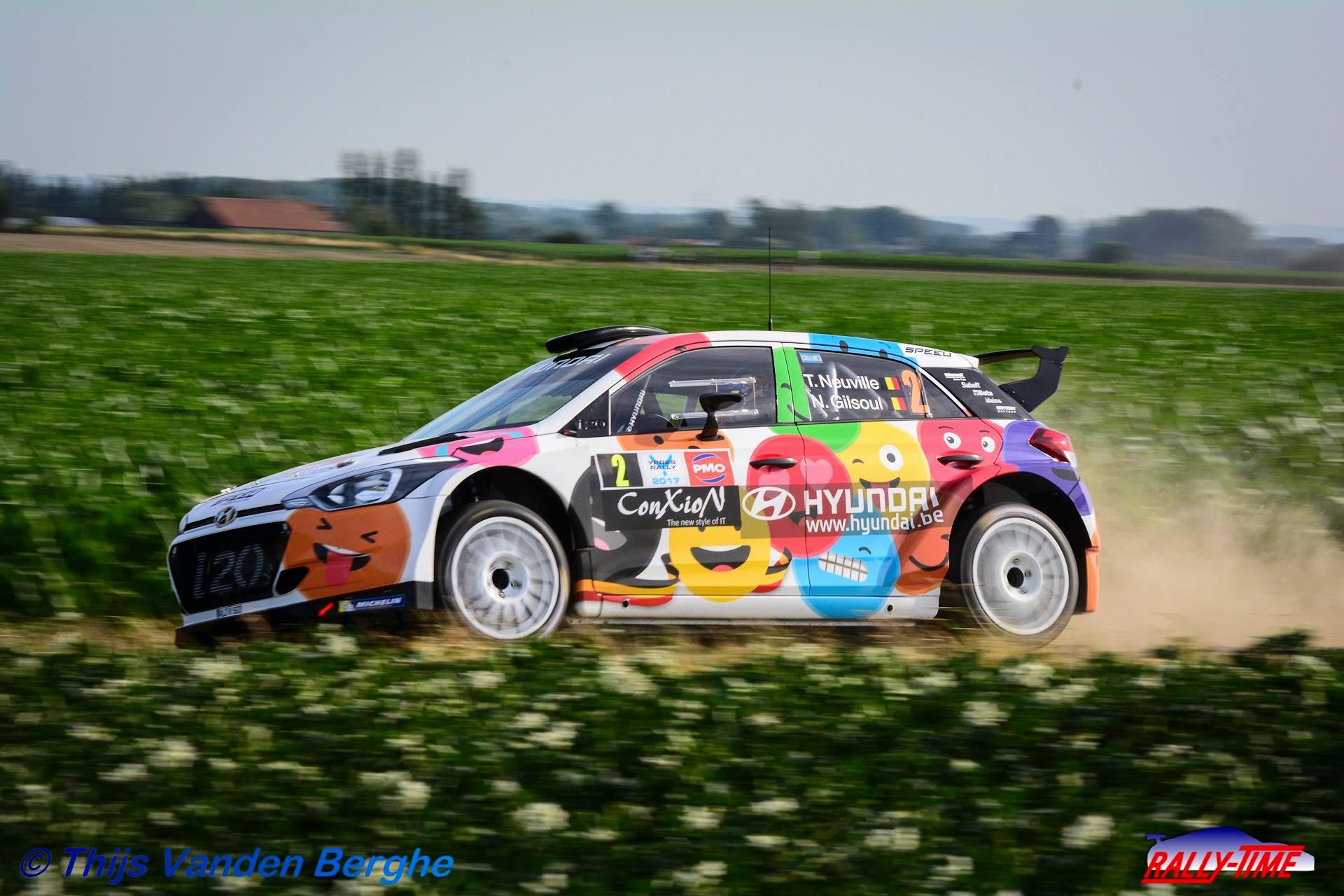 Renties Ypres Rally - Wereldklasse met 31 R5's aan de start