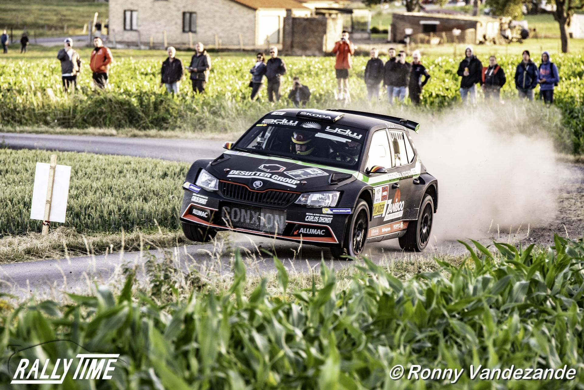 Vincent Verschueren gaat voor winst in East Belgian Rally