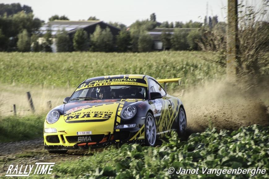 Patrick Snijers en Davie Thierie kampioen in GT klasse