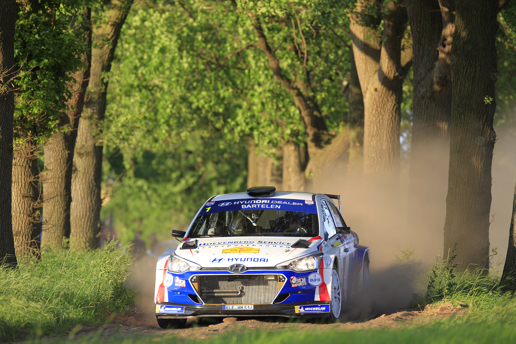 Bob de Jong favoriet in GTC Rally 2019