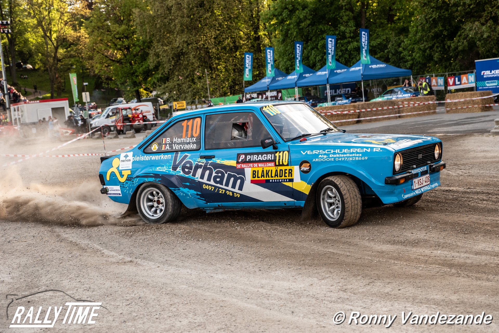 Bjorn Hamiaux opnieuw achter stuur van Ford Escort