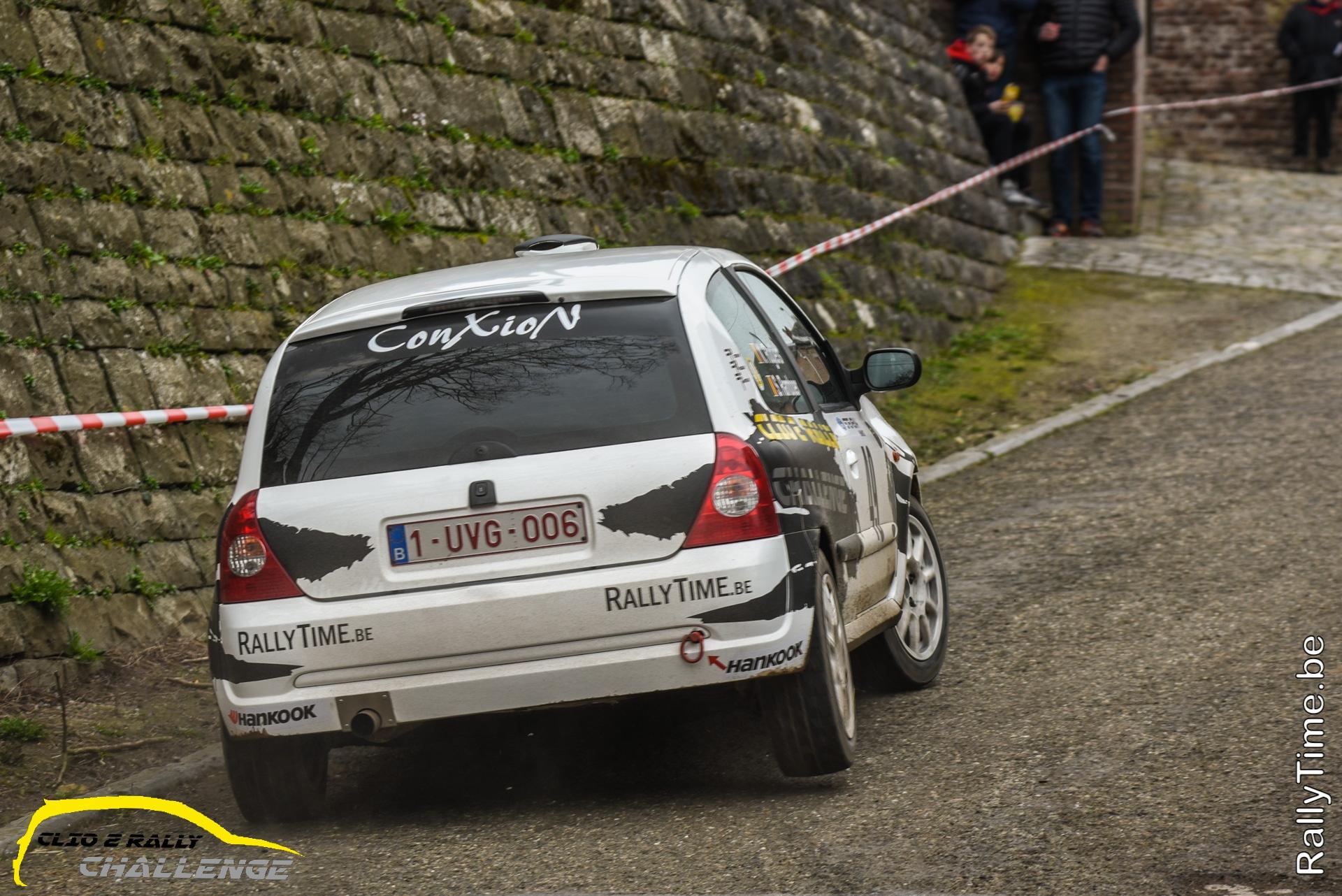 Clio 2 Rally Challenge - Verrassende winnaar in klasse 1, verdiende winnaar in klasse 2