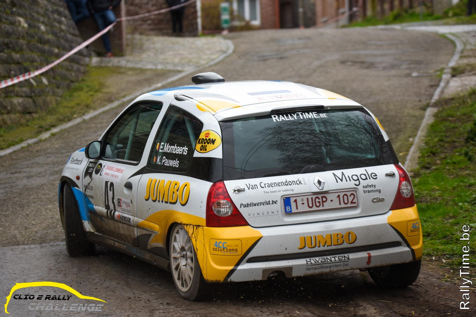 Clio 2 Rally Challenge hervat op 20 september