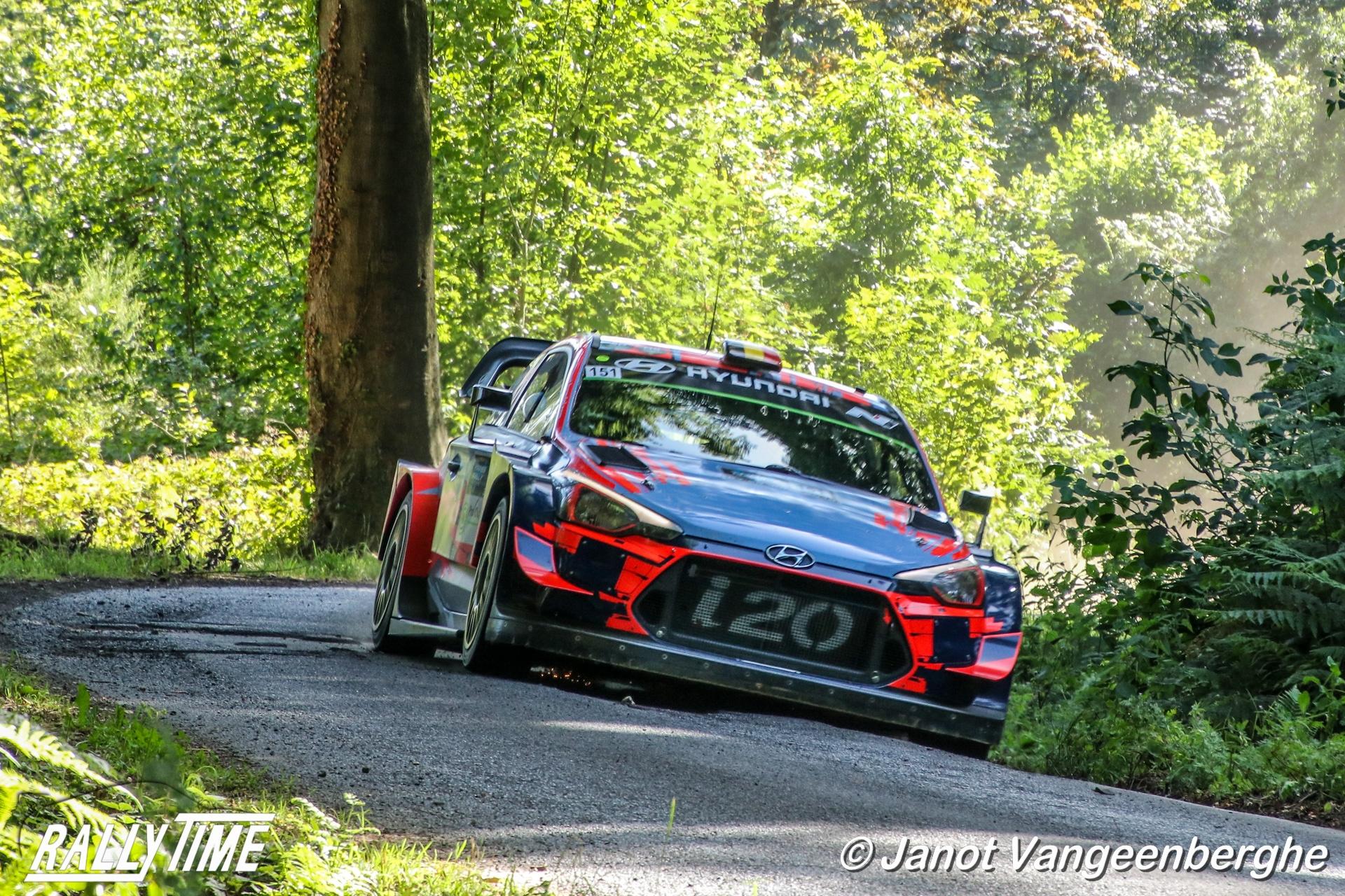Renties Ypres Rally bevestigt zijn kandidatuur voor het WRC op 1-4 oktober 2020