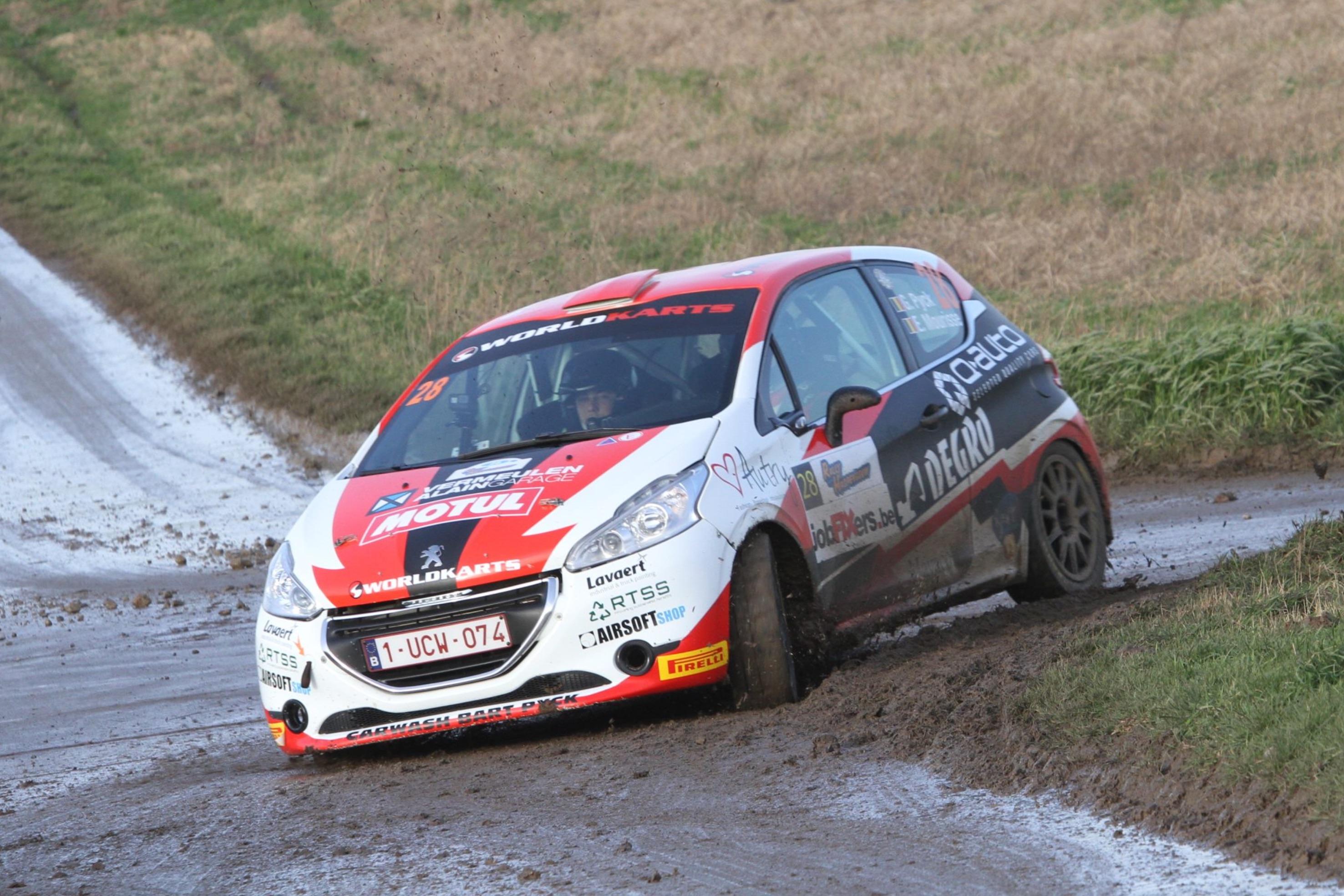 Aarova Rally - Sterke concurrentie voor Gilles Pyck