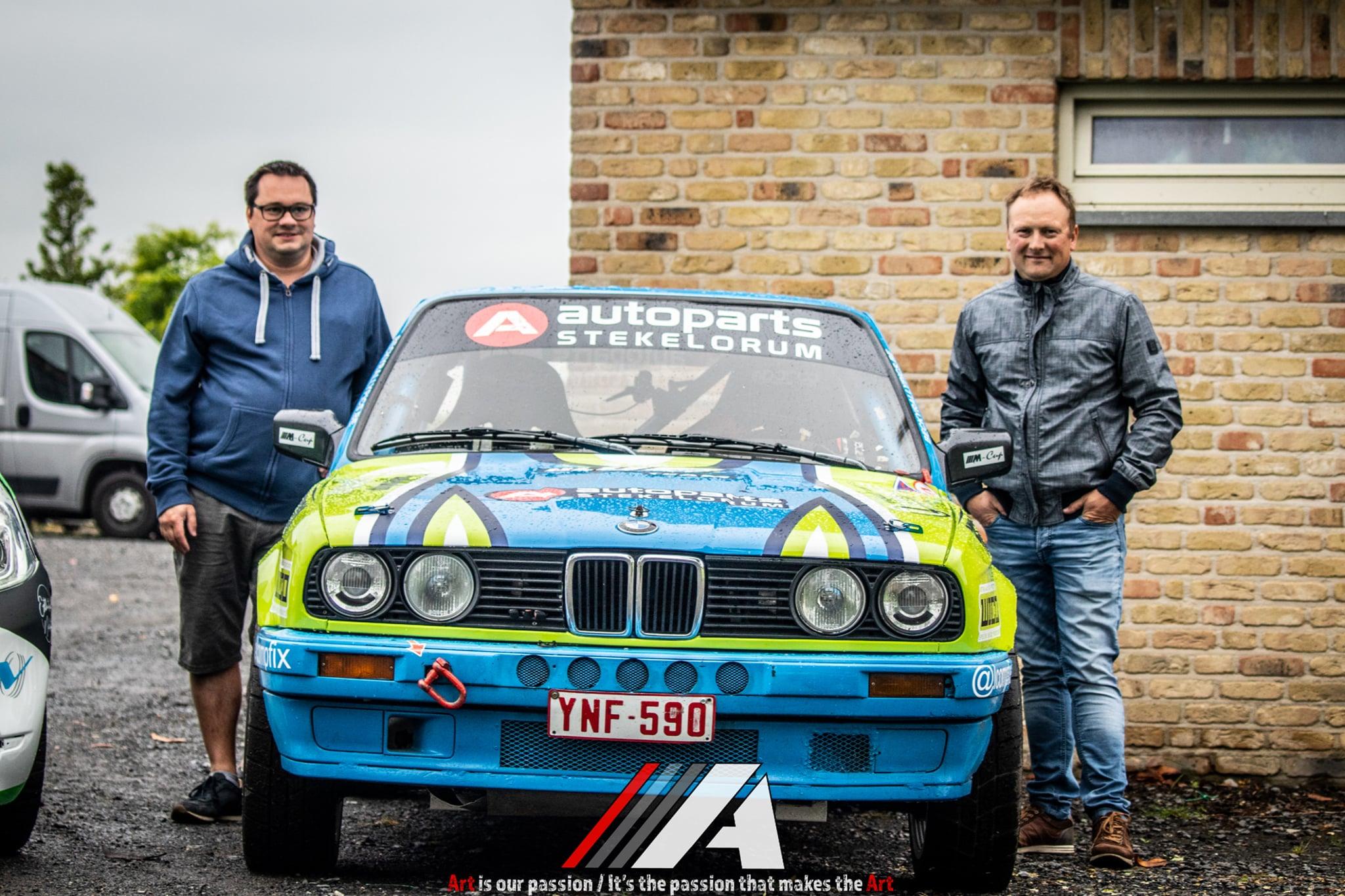 Blue Racing Team start seizoen 2021 in Monteberg Rally